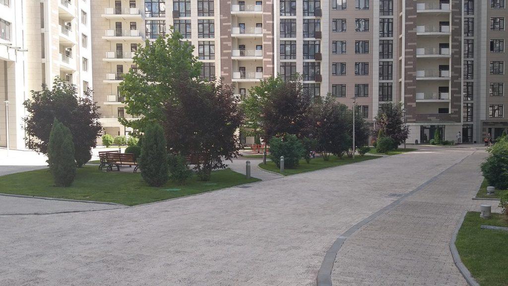 ЖК Бульвар Фонтанов внутренняя территория