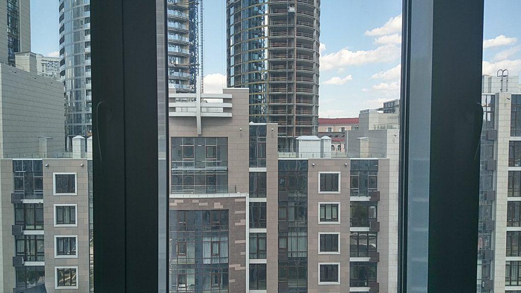 ЖК Бульвар Фонтанов вид из окна