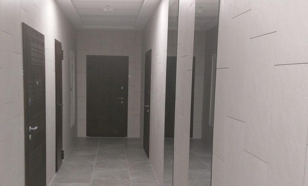 ЖК Бульвар Фонтанов коридор на этаже