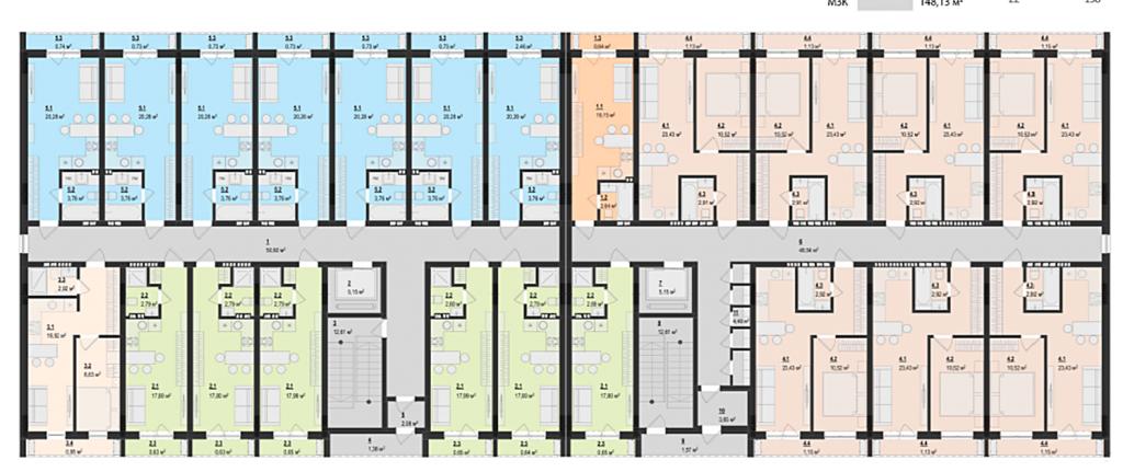 ЖК Z community план этажа
