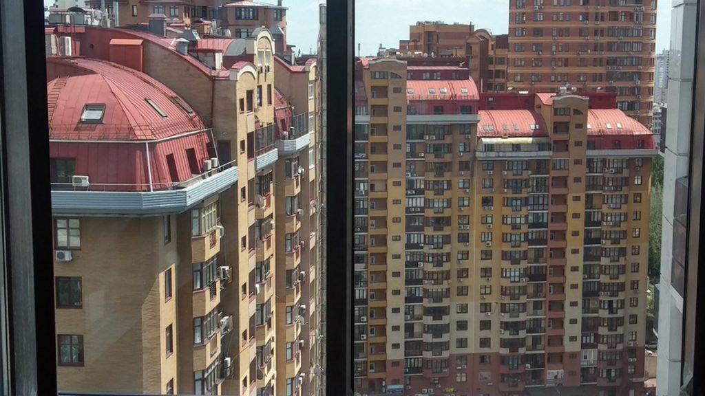 ЖК Skyline вид из окна