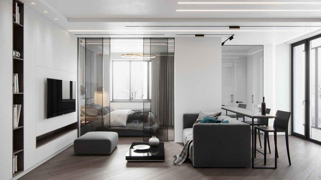 Визуально апартаменты от квартиры не отличить
