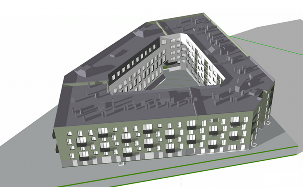 ЖК Park Town визуализация 12 дома