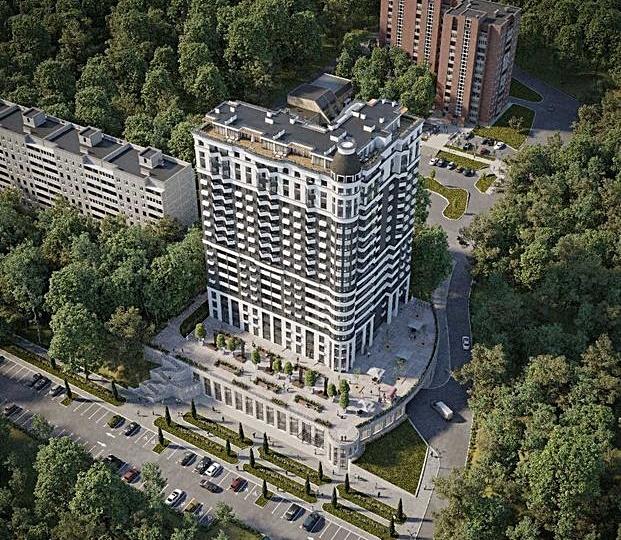 ЖК Vyshgorod Plaza визуализация