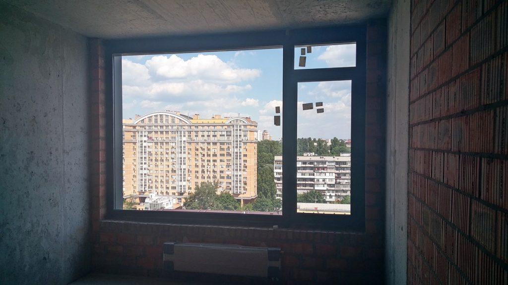 ЖК Tetris Hall вид с окна