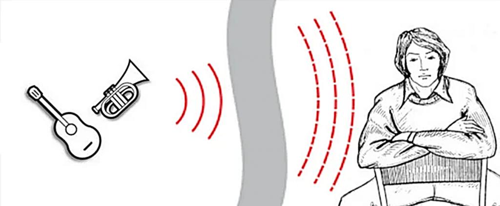 Один из разновидностей шума — воздушный