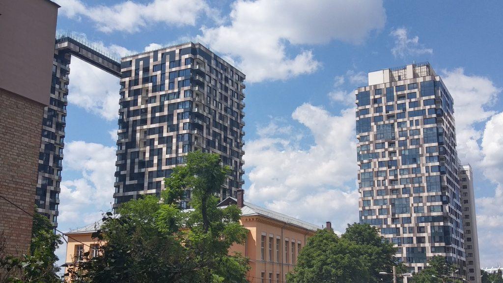 ЖК Tetris Hall как выглядят дома сейчас