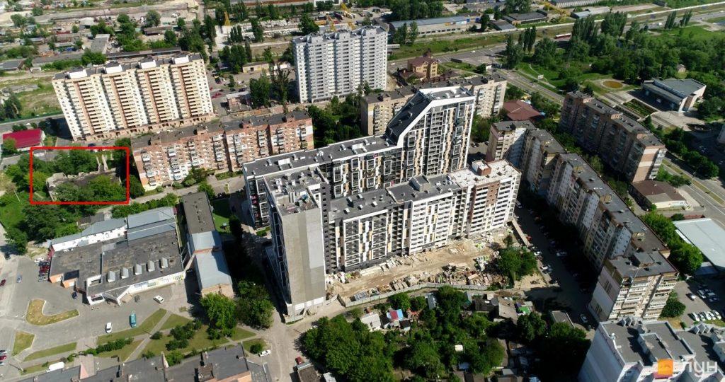 ЖК Vyshgorod Plaza место расположения
