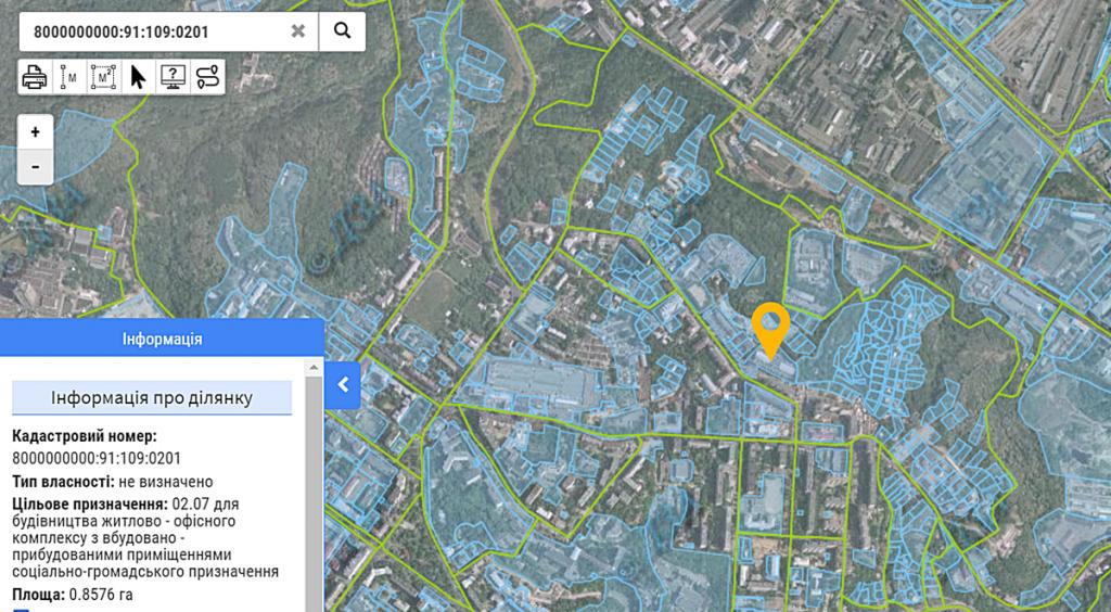 Будущий проект по ул. Нагорная, 47 данные кадастра