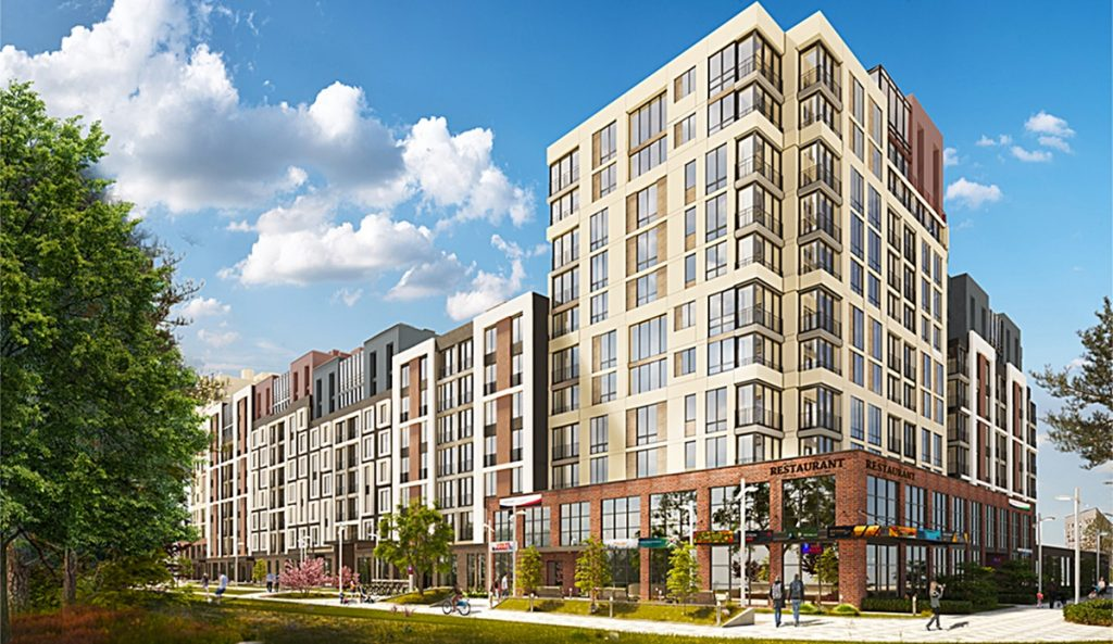 ЖК Велспринг от Edelburg Development визуализация