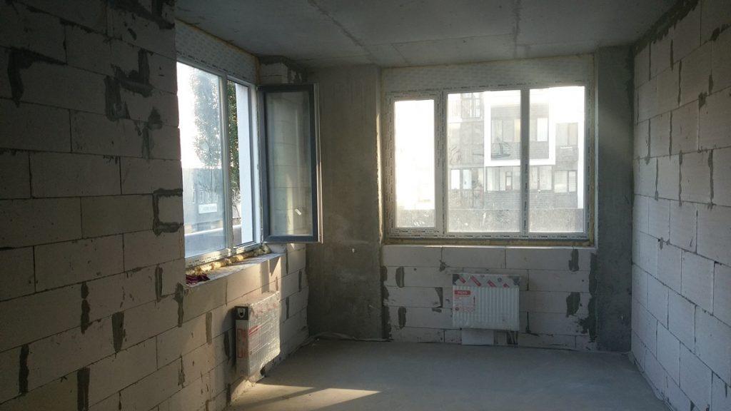 ЖК Вышгород Сити Парк окна в одной из квартир