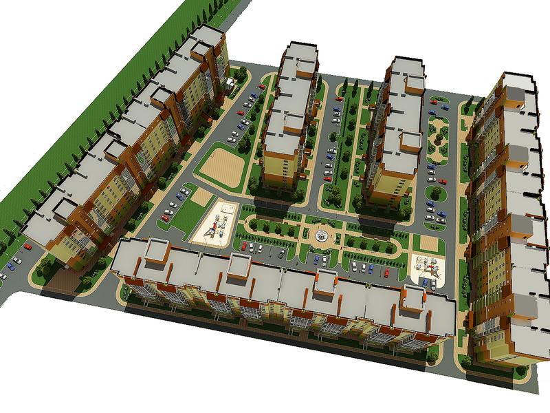 ЖК Європейське місто генеральный план 2013 года