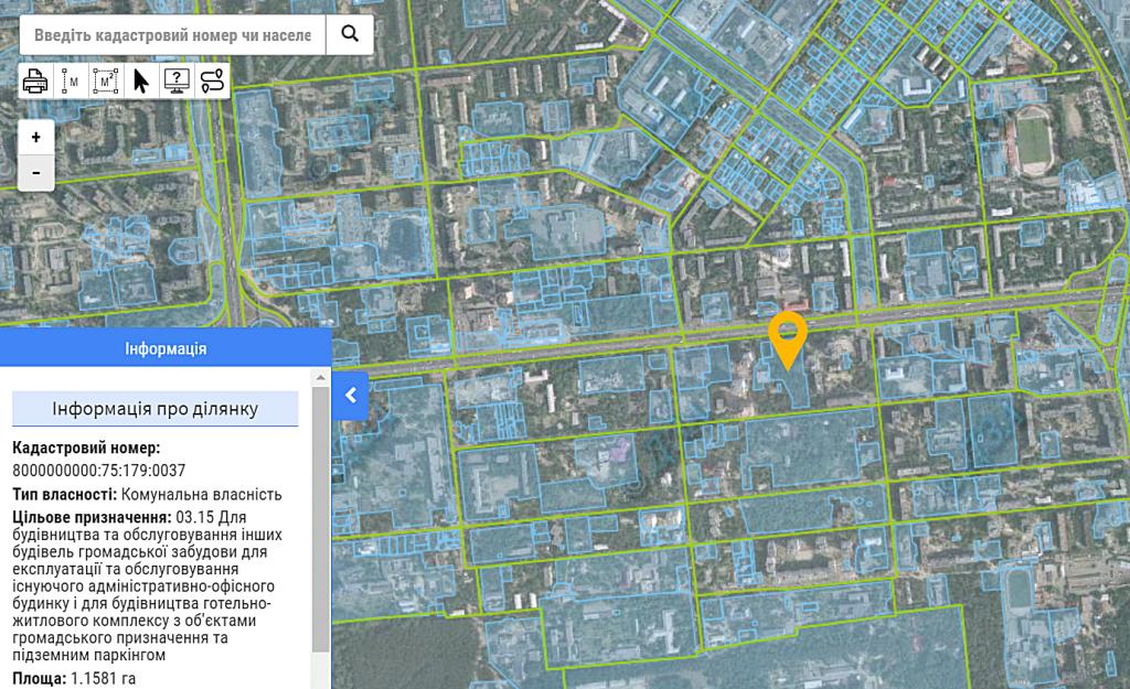 ЖК Chalet данные кадастра