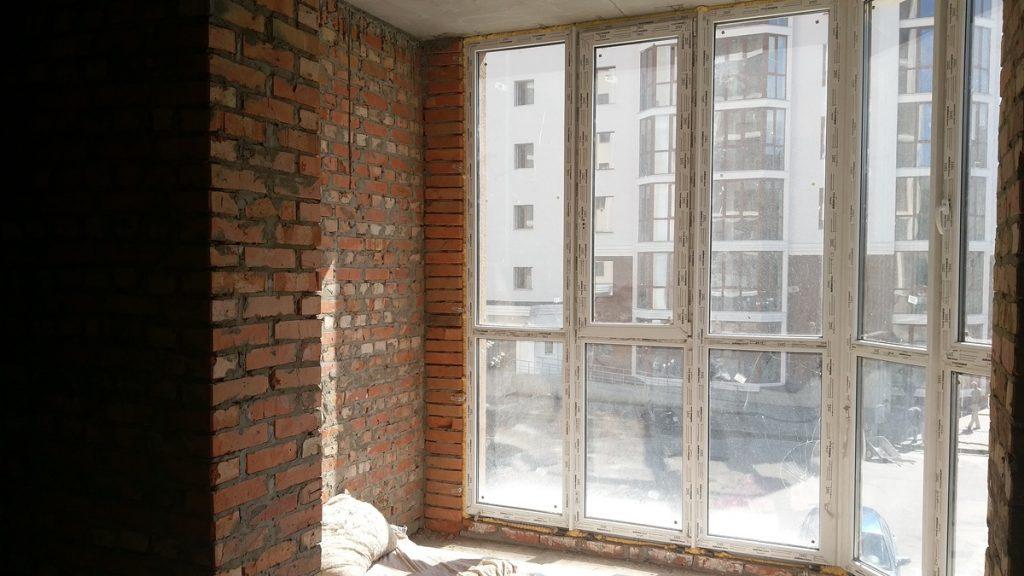 ЖК Одесский квартал вид из окна