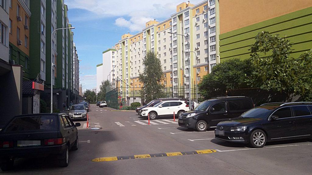 ЖК Європейське місто вид внутри двора