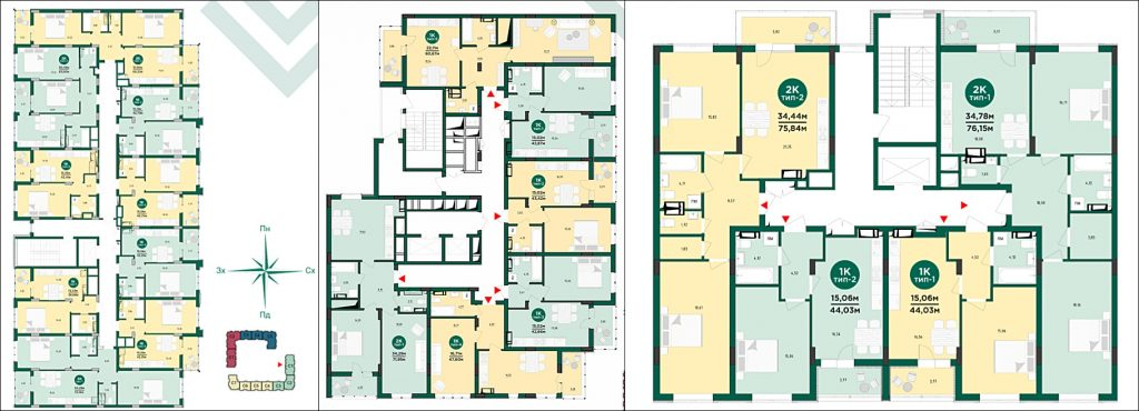 Обзор ЖК Велспринг от Edelburg Development планы этажей