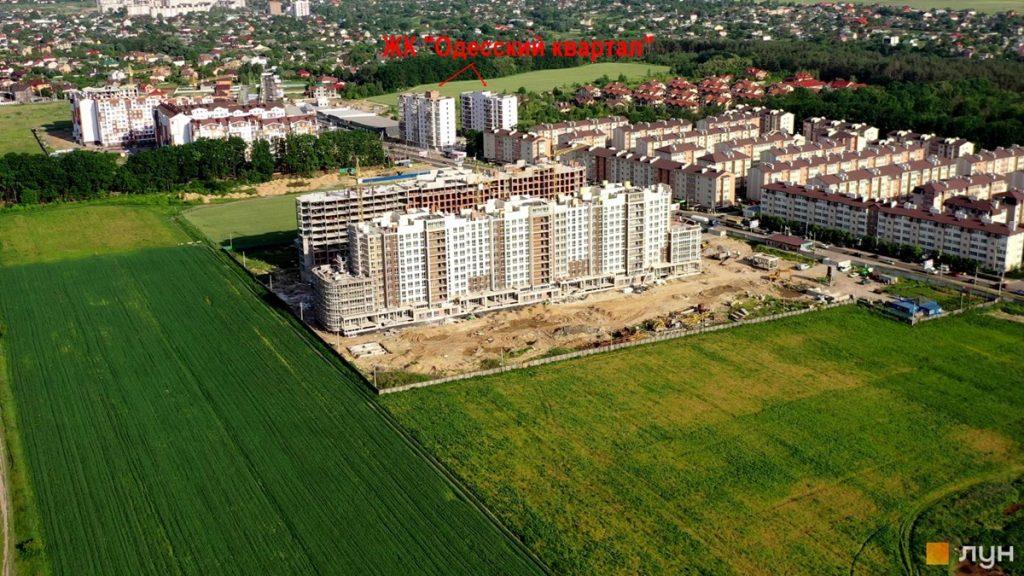 ЖК Одесский квартал вид с высоты