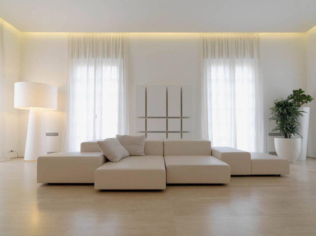 Освещение в минималистичном стиле
