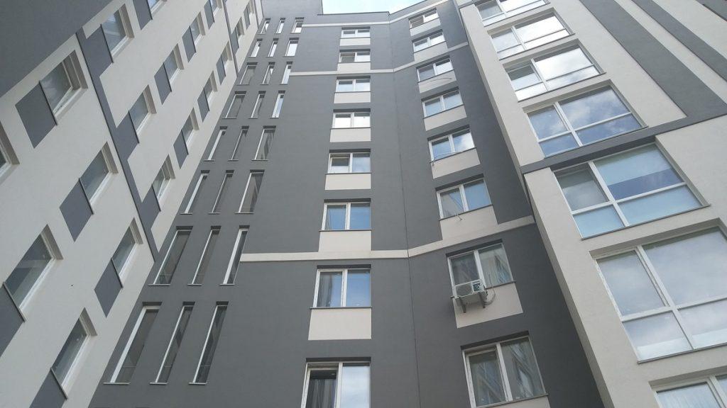 ЖК Європейське місто вид фасада
