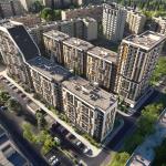 """ЖК """"Вышгород Сити Парк"""" визуализация"""