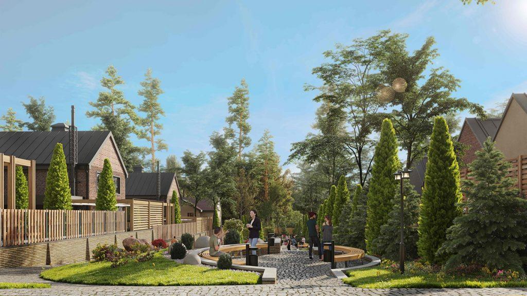 КГ Oak Grove Town визуализация