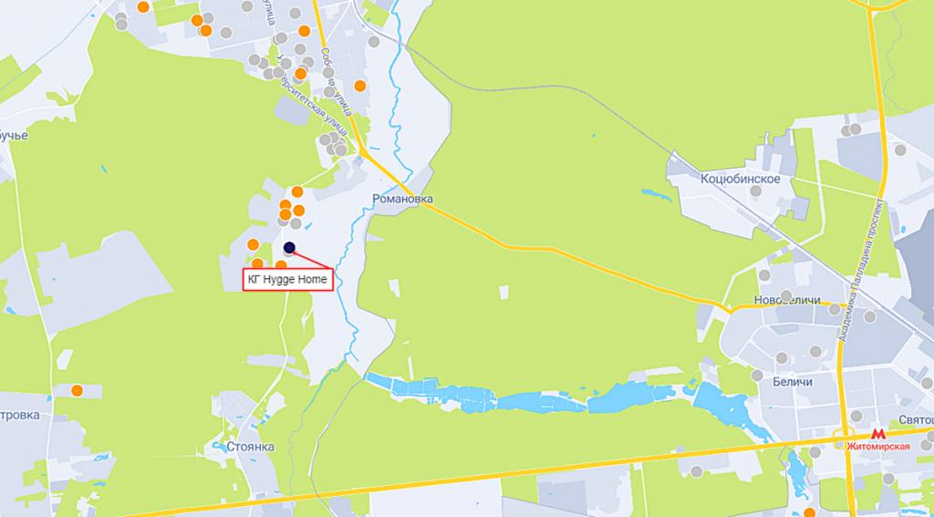 КГ Hygge Home на карте