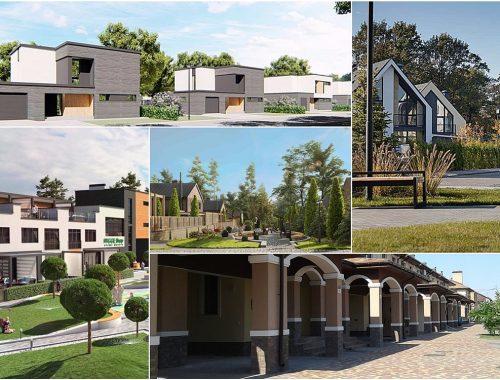 На века: 5 коттеджных городков, строящихся из кирпича
