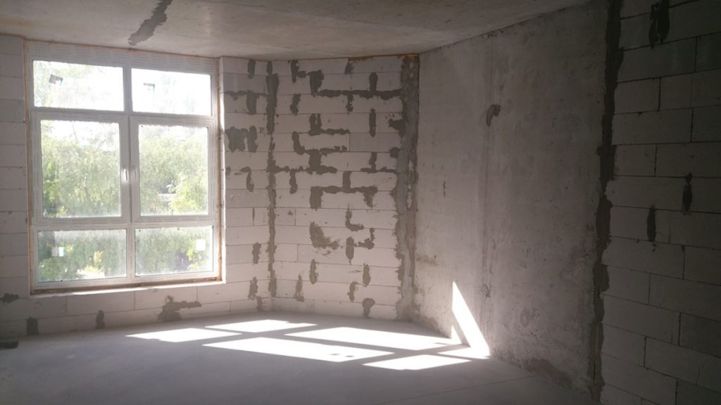 ЖК Зенит в Вышгороде внутренняя черновая отделка квартир