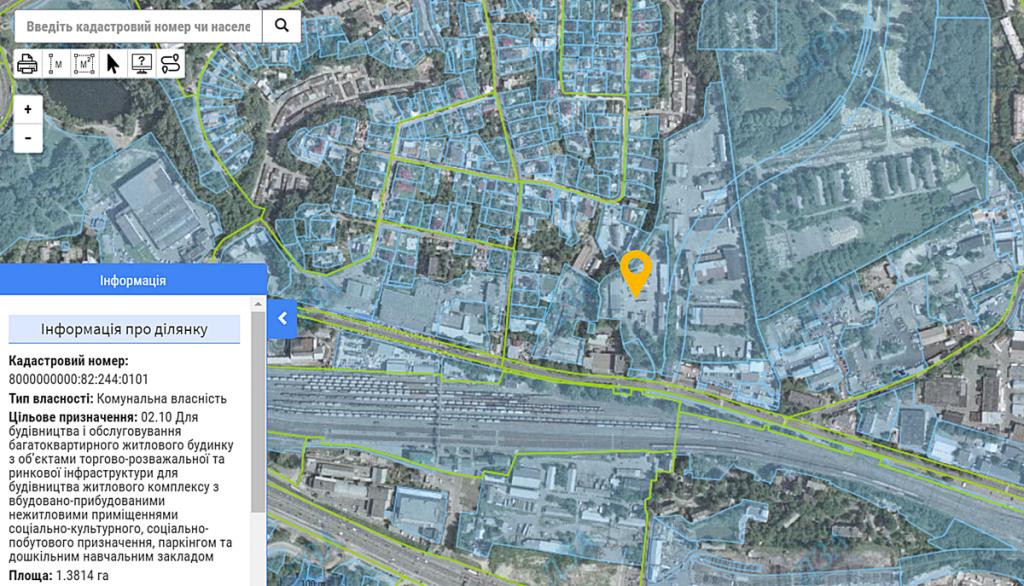 ЖК Nordica Residence данные кадастра