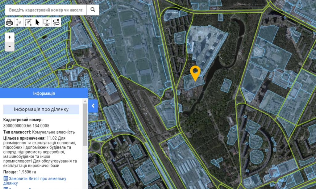ЖК Парковые Озера-2 данные Кадастра