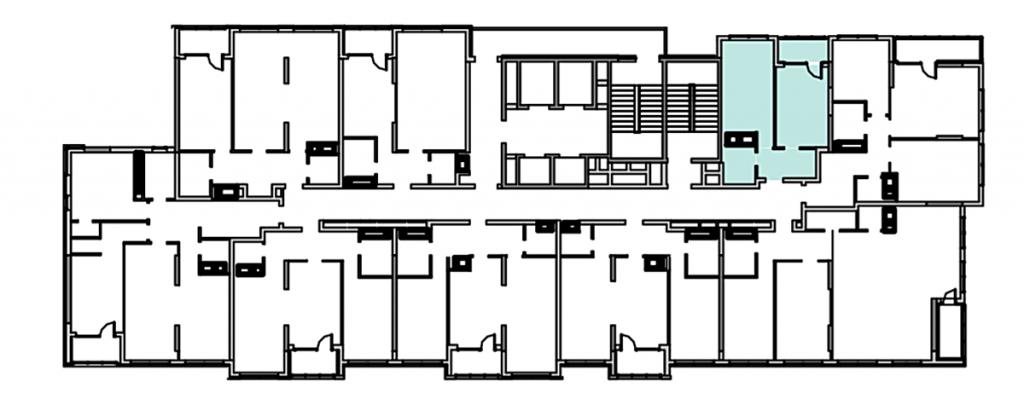 ЖК Nordica Residence план этажа