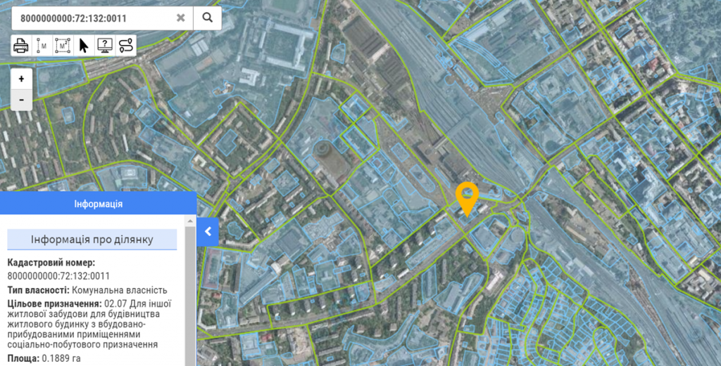 Новый проект по ул. Липковского данные кадастра