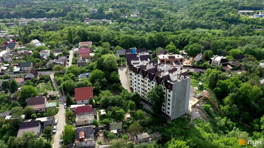 ЖК Сырецкий Парк-2 вид с высоты птичьего полета