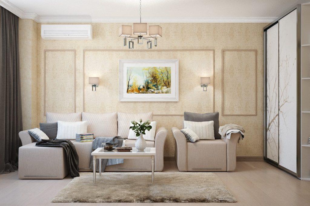 Пол, стены, потолок в классическом дизайне