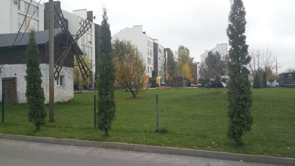 ЖК Белый шоколад Центр в Белогородке ветряная мельница