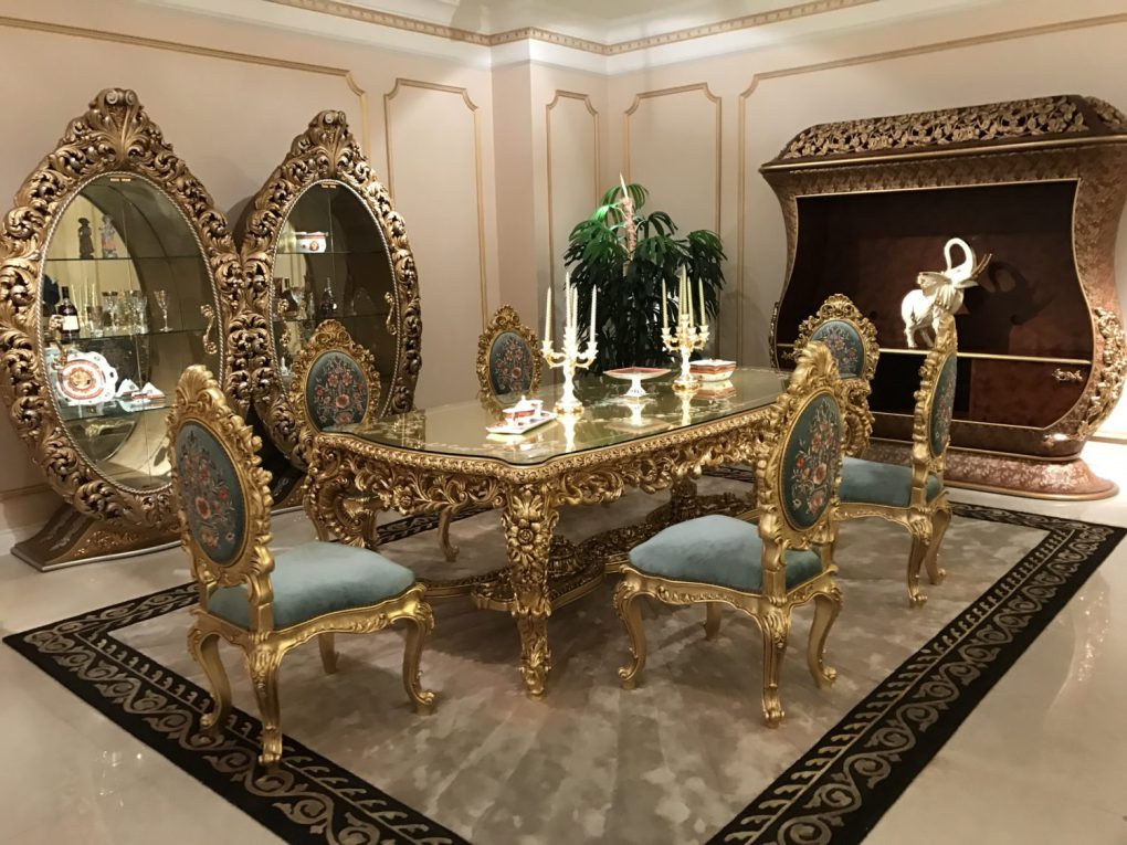 Декор в классическом дизайне