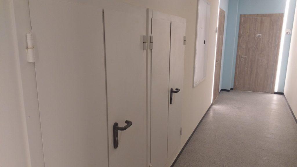 ЖК Рыбальский коридор на этаже