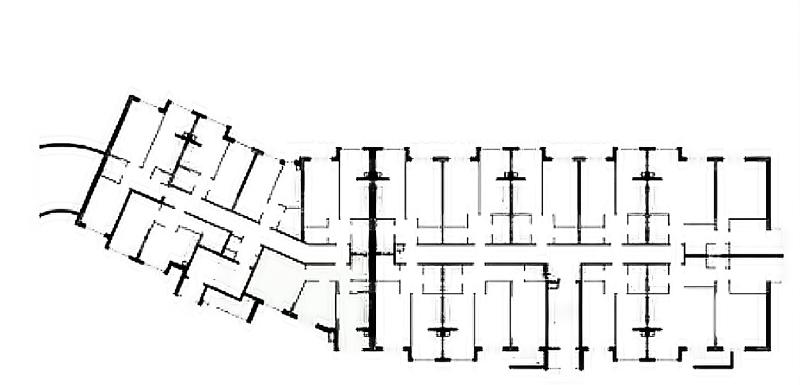 ЖК Антрацит план этажа