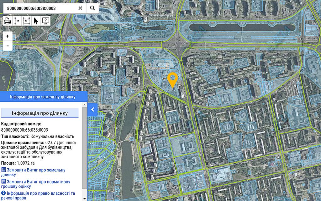 Новый проект по ул. Кибальчича, 1 данные кадастра