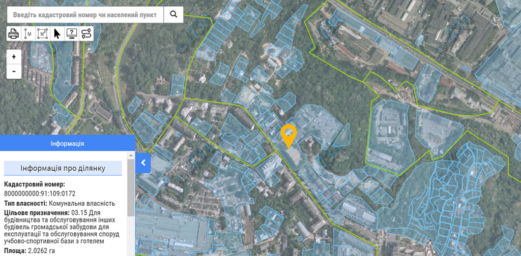 Новый проект по ул. Нагорная, 25 данные кадастра