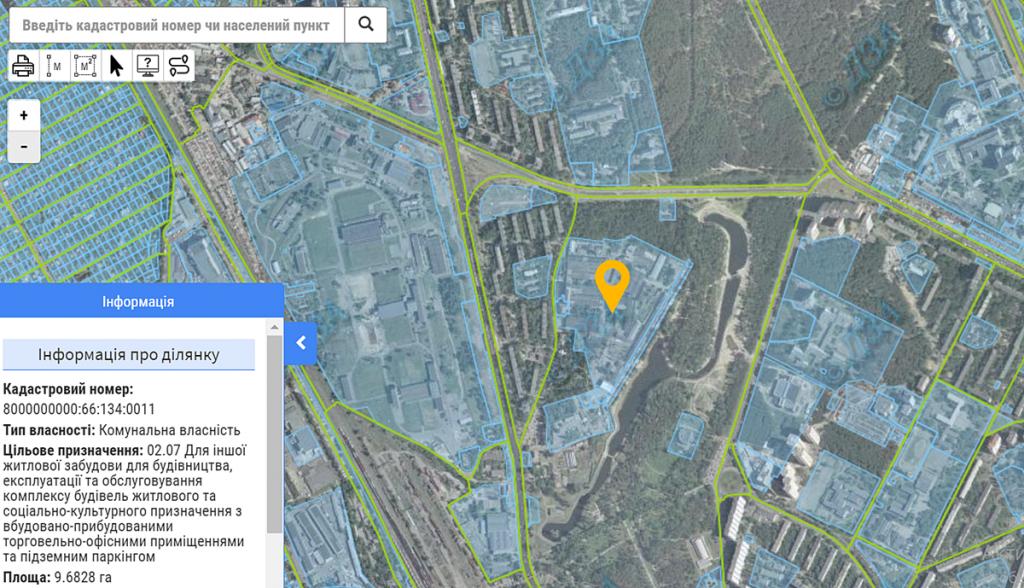 Новый проект по ул. Воскресенская, 7 данные кадастра