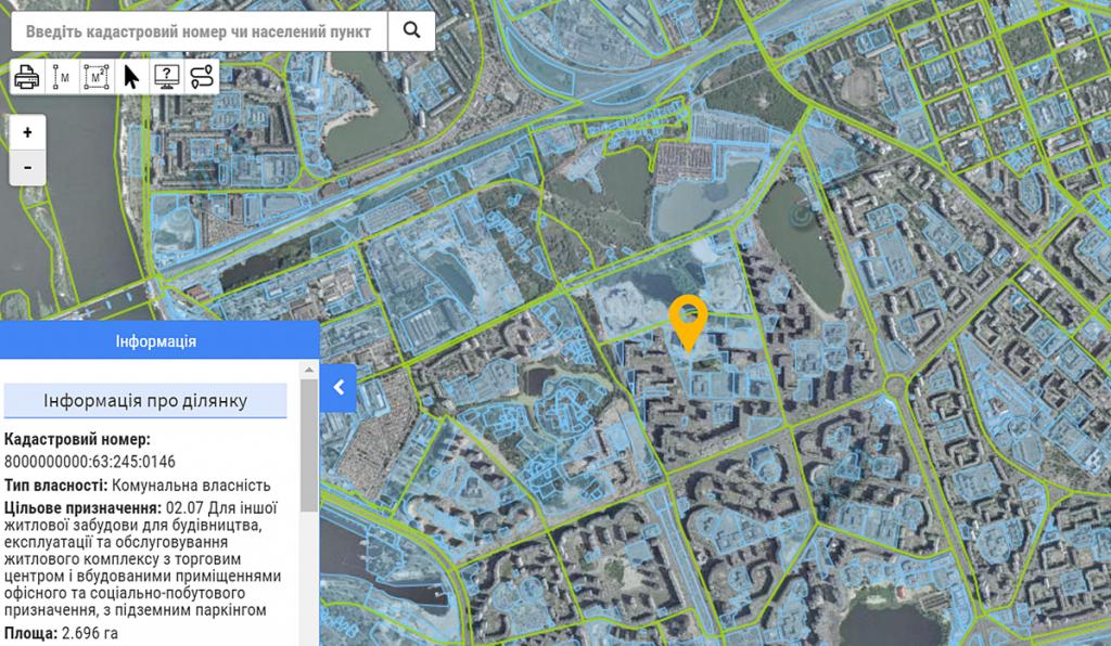 Новый проект по ул. Пчилки, 5-Б данные кадастра
