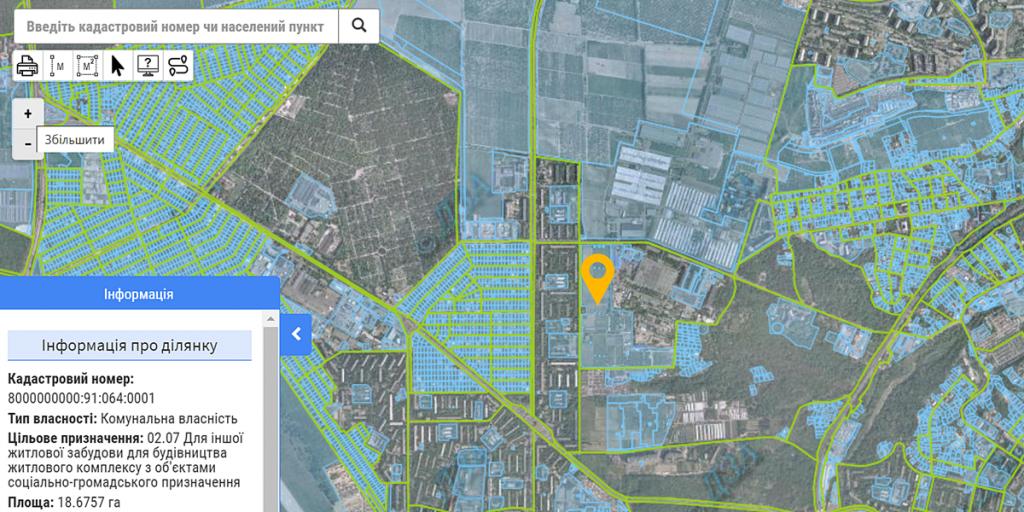 Новый проект по ул. Маршала Гречко, 10-Б данные кадастра
