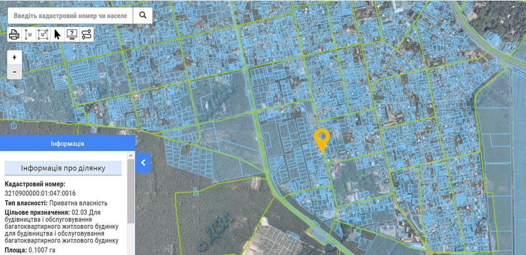 ЖК Utlandia-2 данные кадастра