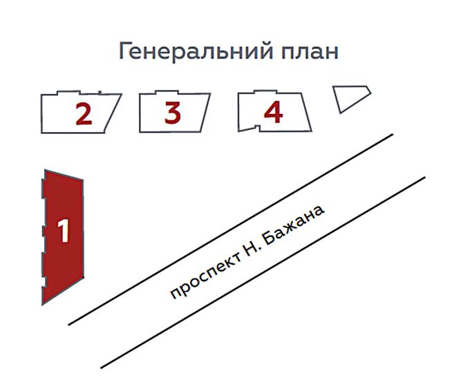 ЖК Terracotta генеральный план