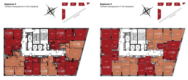 ЖК Terracotta план этажа
