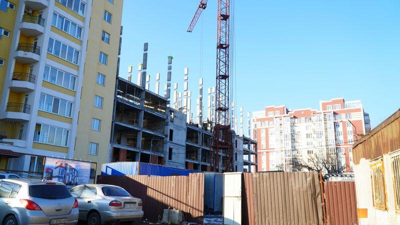 ЖК Гостомель Сити ход строительства