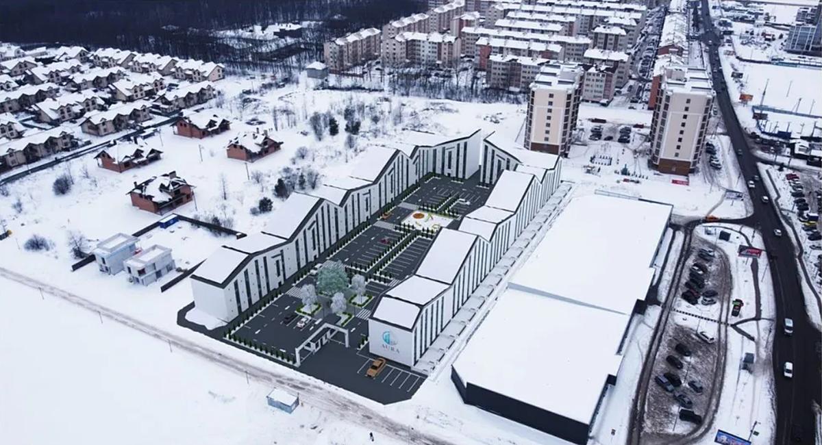 ЖК Aura Center генплан