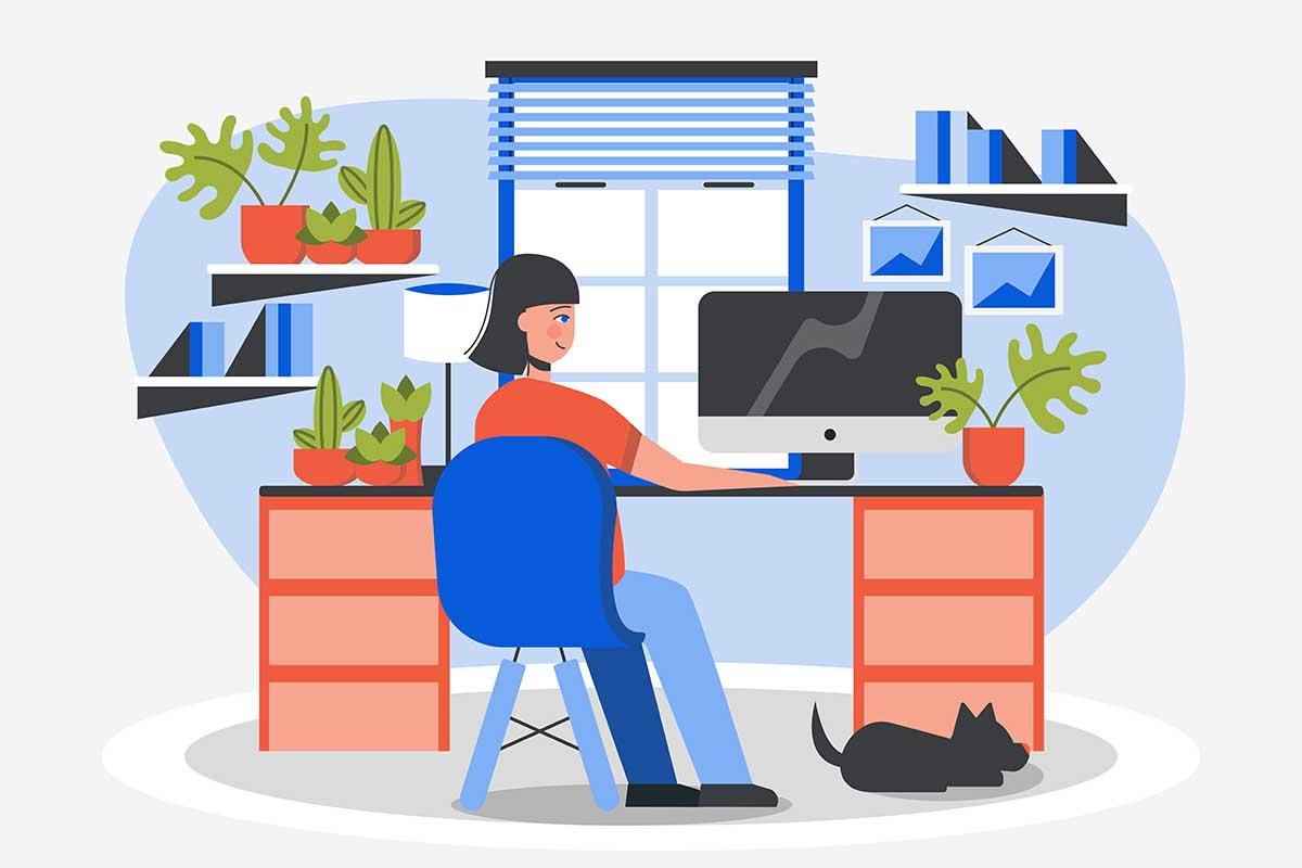 На удаленке: обустраиваем рабочее место дома