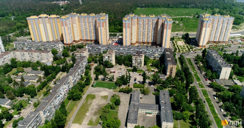 Застройка Минского массива